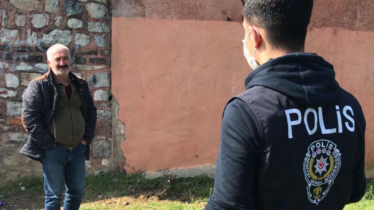 Polisle vatandaş arasında ilginç diyalog Arıza gideriyoruz
