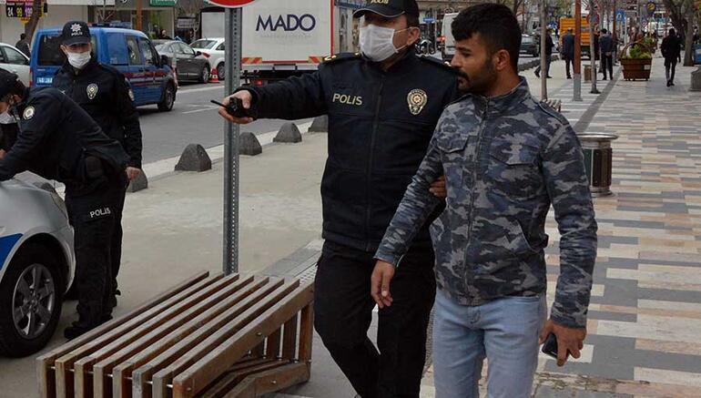 Gözaltına aldıran hareket