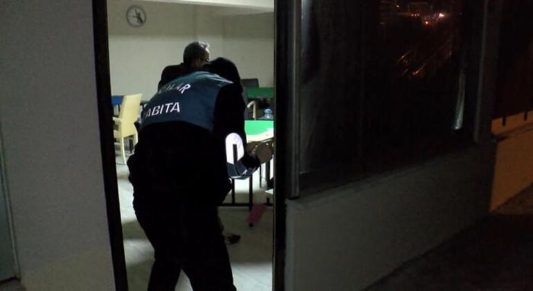 Genelgeye uymadılar, saat 21.00de basıldı Kapısına mühür vuruldu
