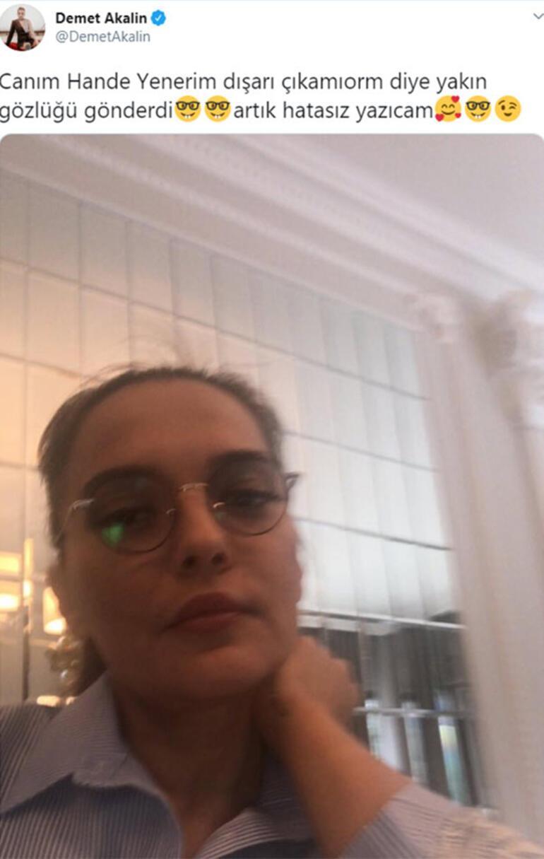 Hande Yener'den Demet Akalına TDK göndermesi