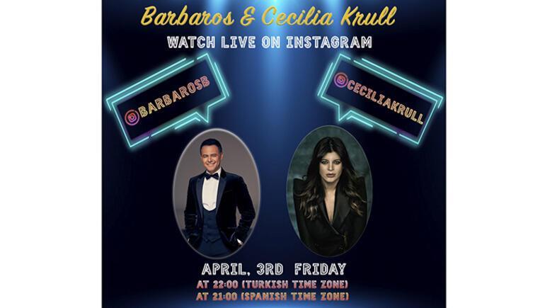 Barbarosun Instagram konuğu Cecilia Krull
