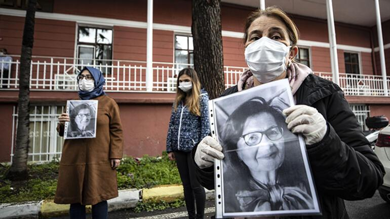 Son dakika haber: Gözyaşları sel oldu Corona virüsten hayatını kaybeden Prof. Dr. Feriha Öz için saygı duruşu