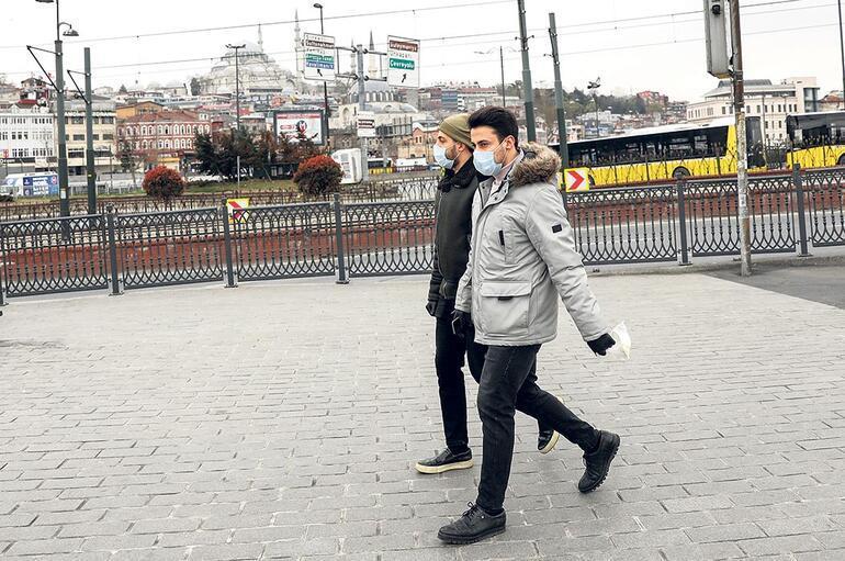 Evde kal, virüsü yen İstanbul
