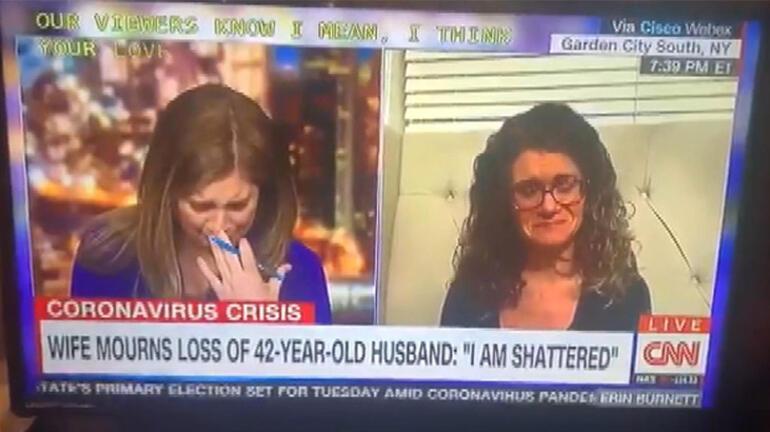 Son dakika: Canlı yayında corona virüs röportajı böyle ağlattı