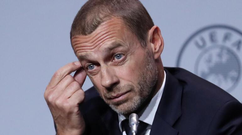 UEFAdan Ceferin yalanlaması