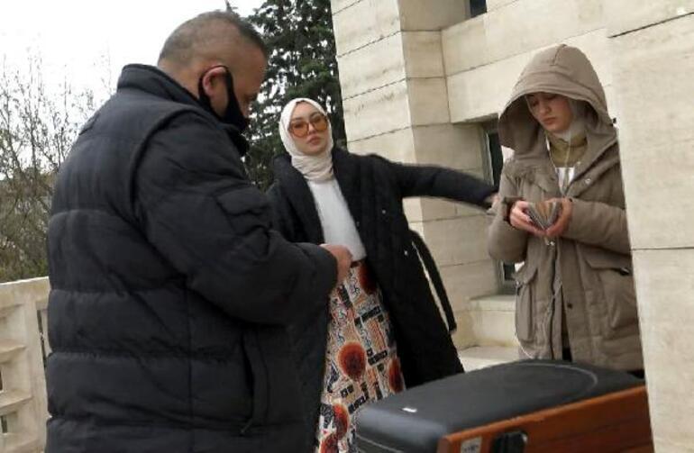Caminin avlusunda firma için izinsiz İnstagram çekimine polis müdahalesi