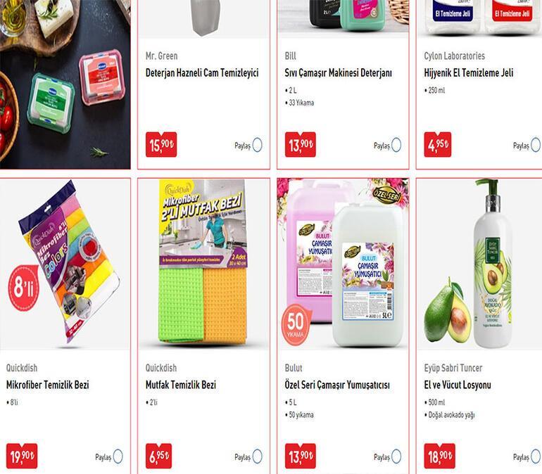 BİM aktüel katalog yayınlandı BİM 7 Nisan Salı - BİM 10 Nisan Cuma indirimi için ürünler ve fiyatları belli oldu