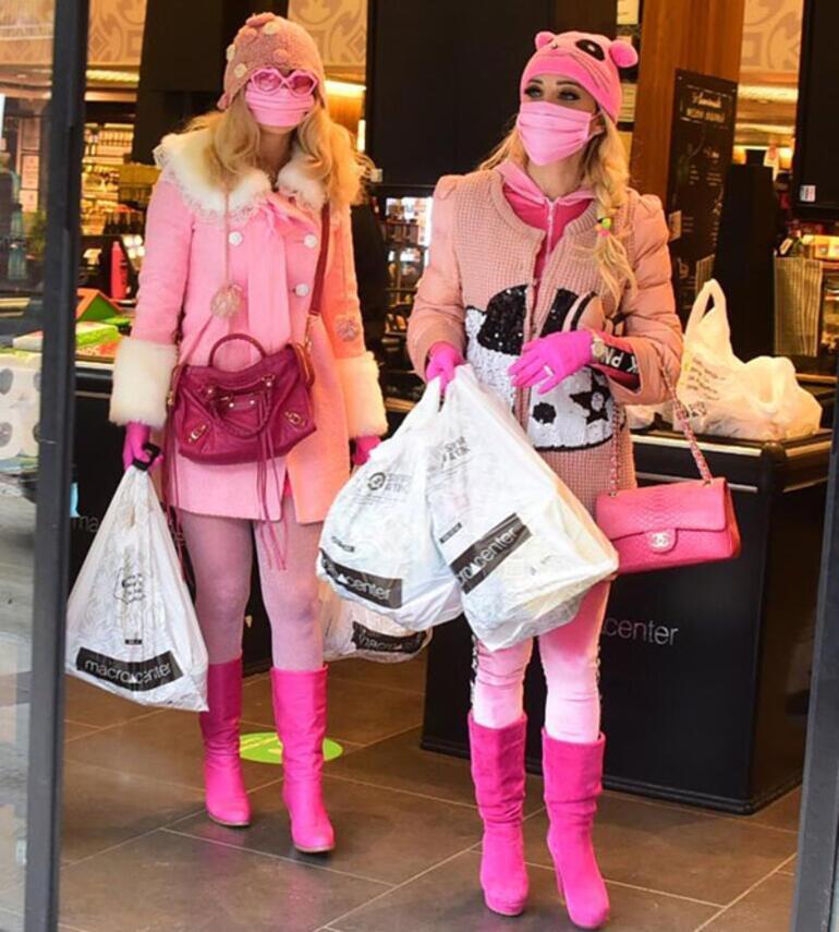Esra-Ceyda Ersoy ihtiyaç sahipleri için alışveriş yaptı