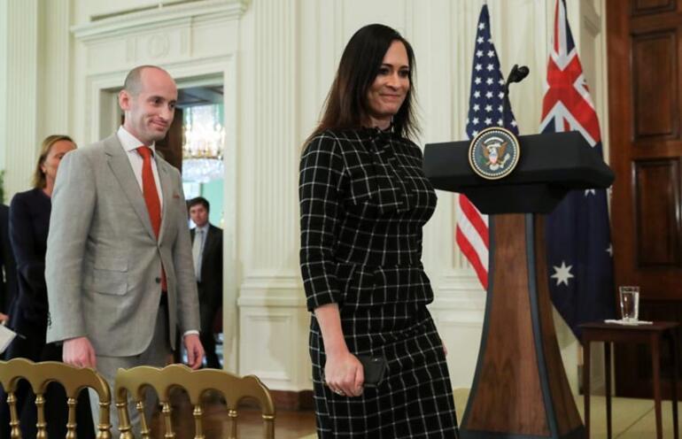 Beyaz Saray Sözcüsü Grisham görevinden ayrıldı Melania Trump mutlu oldu...