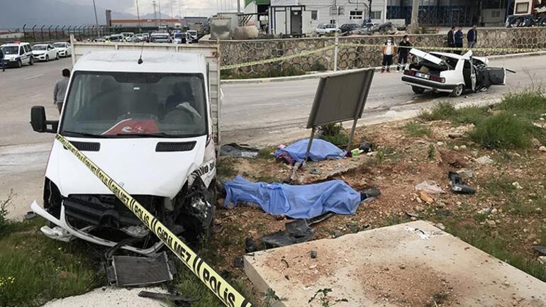 Adana'da katliam gibi kaza Ölü ve yaralılar var