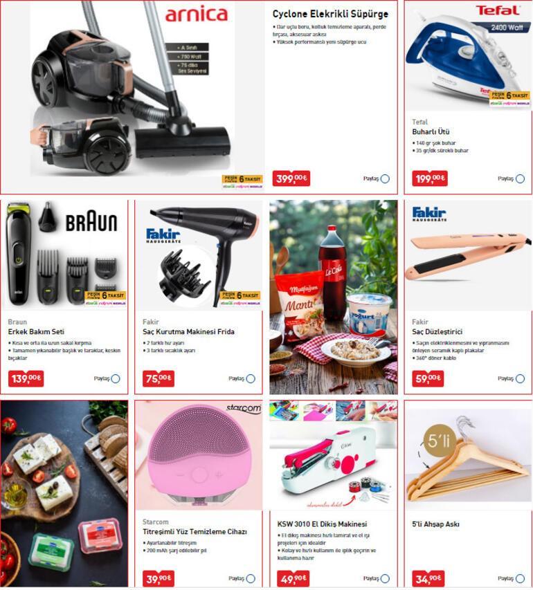 10 Nisan BİM aktüel ürünler kataloğunda bu hafta hangi indirimli ürünler var BİMde bu hafta hangi indirimli ürünler var