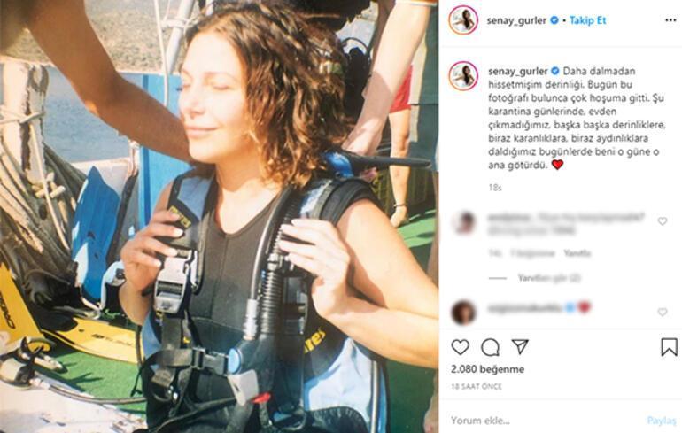 Şenay Gürler: Bu fotoğrafı bulmak hoşuma gitti