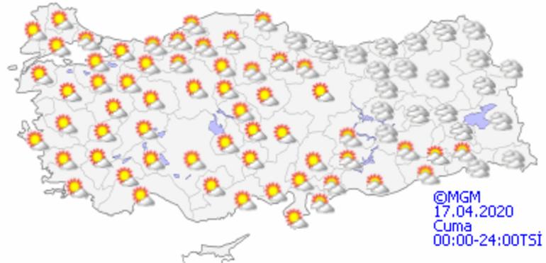 Hava durumu bugün nasıl olacak Meteorolojiden kuvvetli sağanak uyarısı