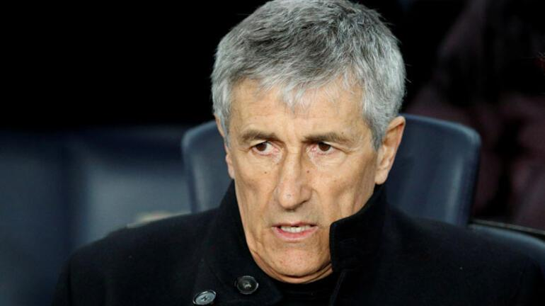 Barcelona Teknik Direktörü Setien, şampiyonluğu sahada kazanmak istiyor