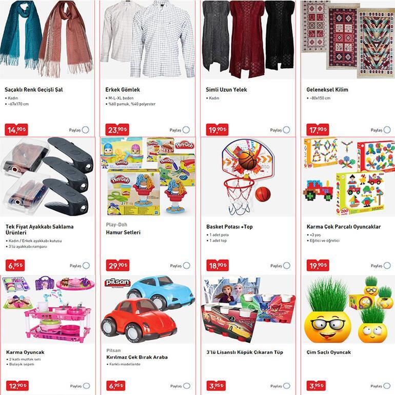 BİM aktüel katalog indirimleri başladı İşte o ürünler ve fiyatları