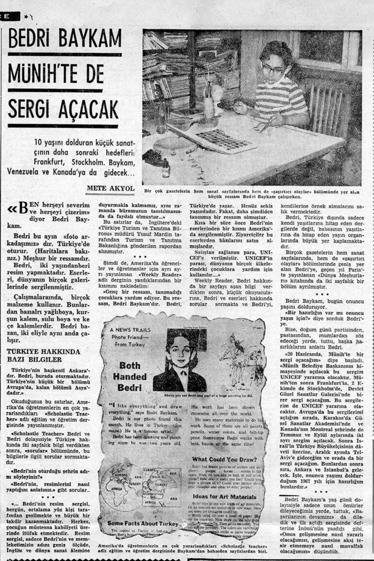 Bedri Baykam'a göre Atatürkçülüğü yansıtmak keyifli bir sorumluluk