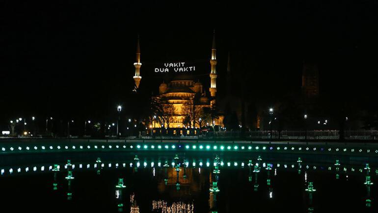 Ramazanın görsel zenginliği mahya