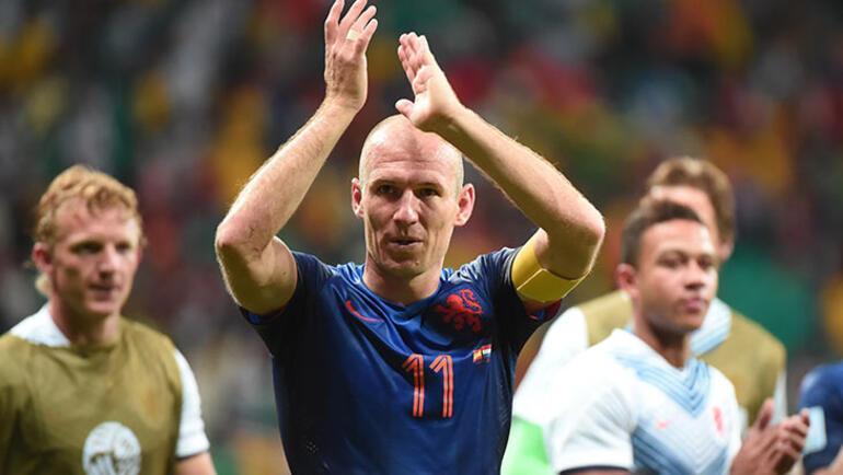 Arjen Robbenden futbola dönüş sinyali