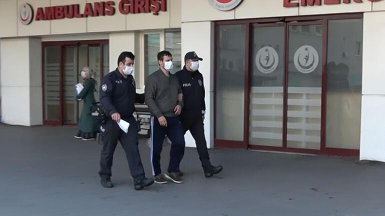 Trabzonda doktora oksijen tüpüyle saldıran şüpheli gözaltına alındı