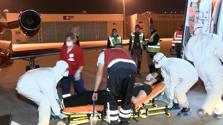 Ambulans uçak bu kez onun için havalandı