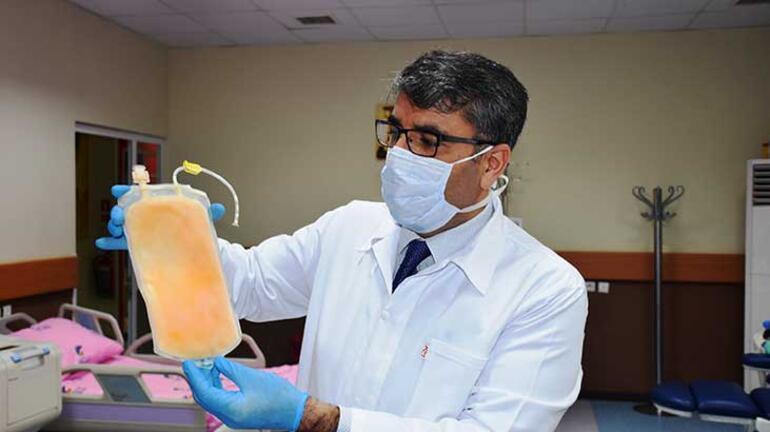 İmmün plazma tedavisinin ilk uygulandığı hasta, corona virüsü yendi