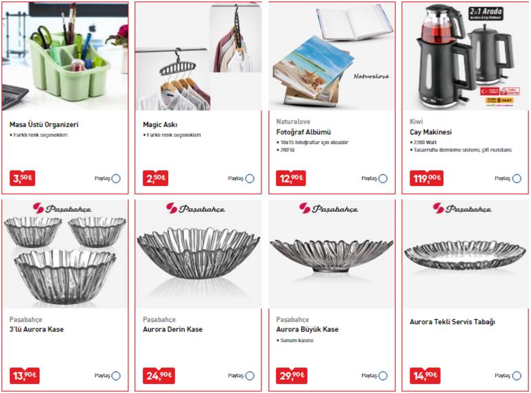 29 Nisan BİM aktüel ürünler kataloğunda hangi ürünler var BİM 29 Nisan aktüel ürünler kataloğu...