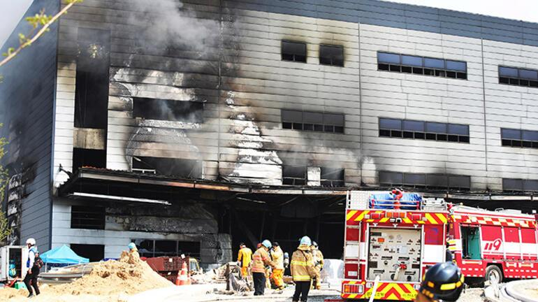 Güney Korede yangın faciası: 25 işçi öldü