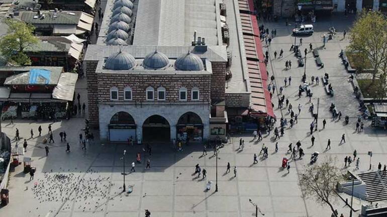 İstanbulda dikkat çeken manzara Corona öncesi günleri aratmadı...