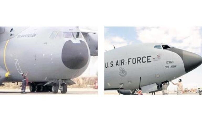 İki uçak, bir fark