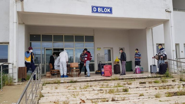 Iraktan getirilen 127 Türk vatandaşı Mardinde yurda yerleştirildi