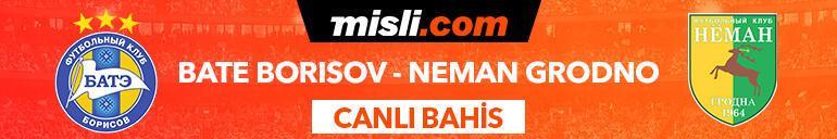 BATE Borisov - Neman Grodno maçı canlı bahisle Misli.comda