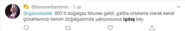 İstanbullu vatandaşlar doğal gaz faturalarına isyan etti