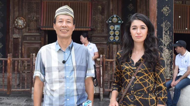 Şian Ulucamisinde eller semaya Türkiye için yükseldi