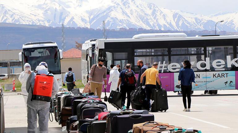 Suudi Arabistandan getirilen 143 Türk vatandaşı, Vanda yurda yerleştirildi