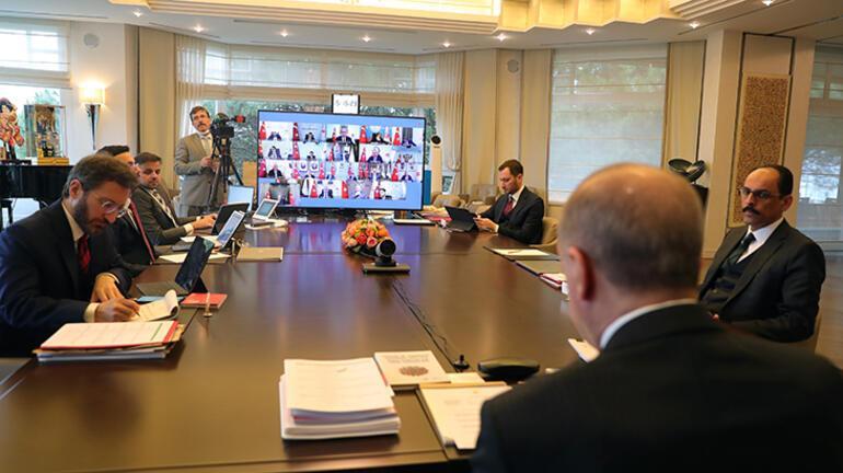 Son dakika Cumhurbaşkanlığı Kabine toplantısı başladı