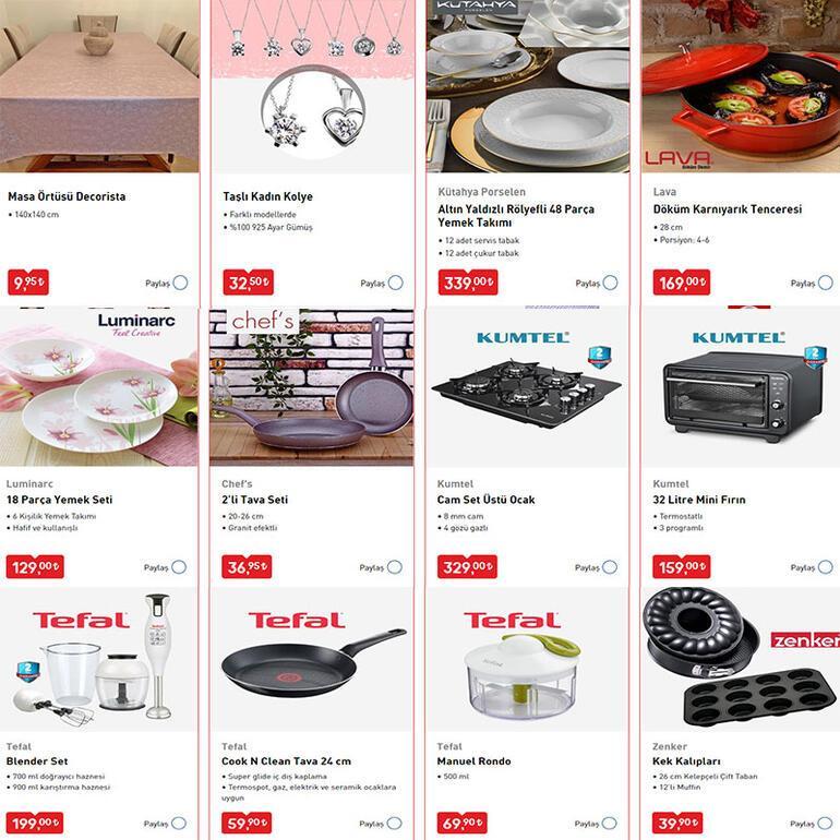 BİM aktüel katalog bugün BİMde mutfak eşyaları büyük indirimde