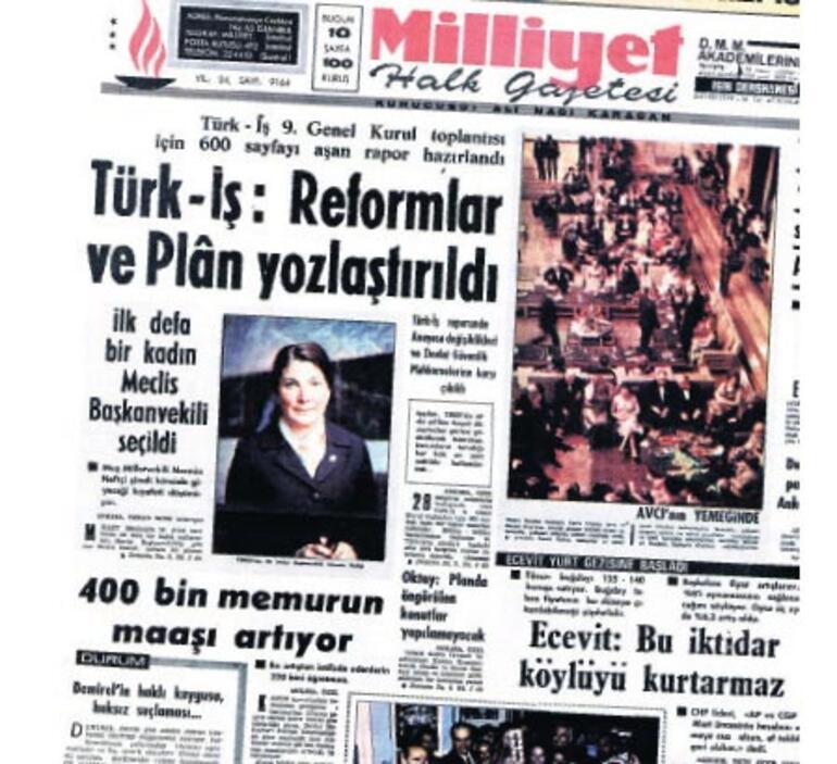 Meclis'i yöneten ilk kadın: Neftçi