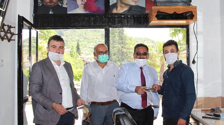 Testi pozitif çıkan berbere maske veren başkanın test sonucu çıktı