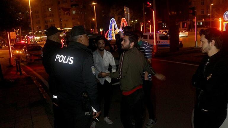 Gürültü cezasına itiraz edince... Polisler böyle ikna etti