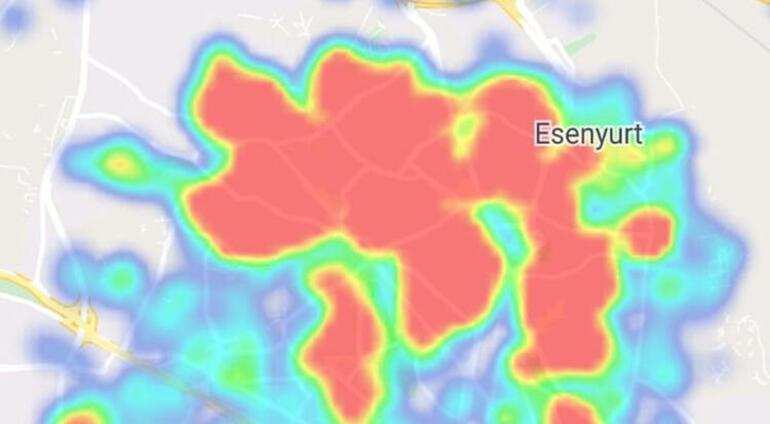 İstanbul corona virüs risk haritası... Hangi ilçeler riskli, hangi ilçeler güvenli