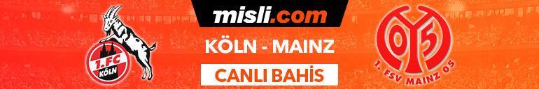 Köln - Mainz canlı bahis heyecanı Misli.comda