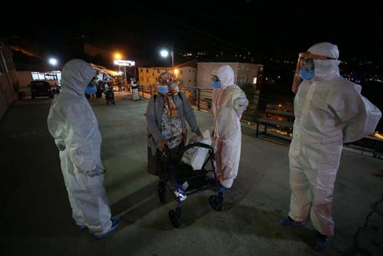 ABDden Türkiyeye getirilen 288 Türk vatandaşı Trabzondaki yurda yerleştirildi
