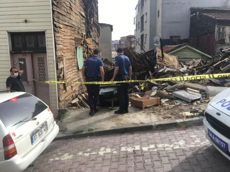 Korkunç 2 ay önce yanan binada kafatası bulundu