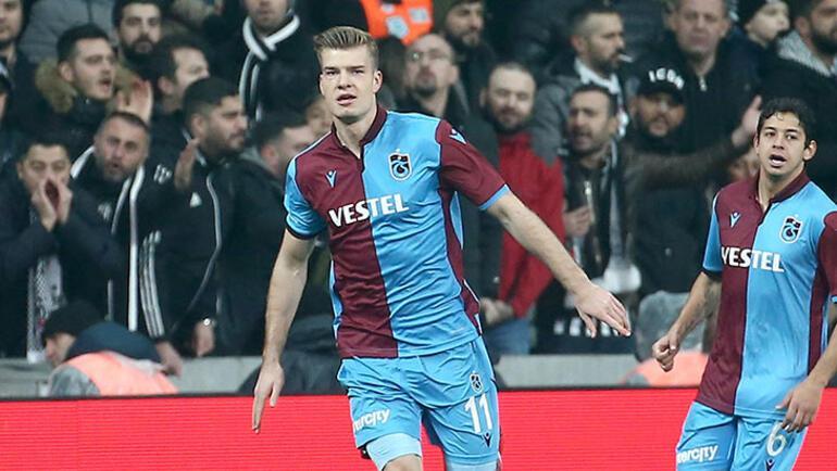 Trabzonspor'da Sörloth sevinci
