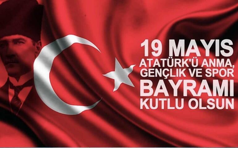 19 Mayıs kutlama mesajları & En güzel 19 Mayıs Atatürkü Anma Gençlik ve Spor Bayramı için kısa, uzun, resimli mesaj seçenekleri