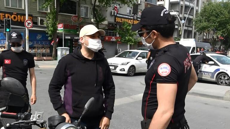Son dakika haberi: İzin kağıdı kontrol edilen vatandaş polisin üzerine yürüdü