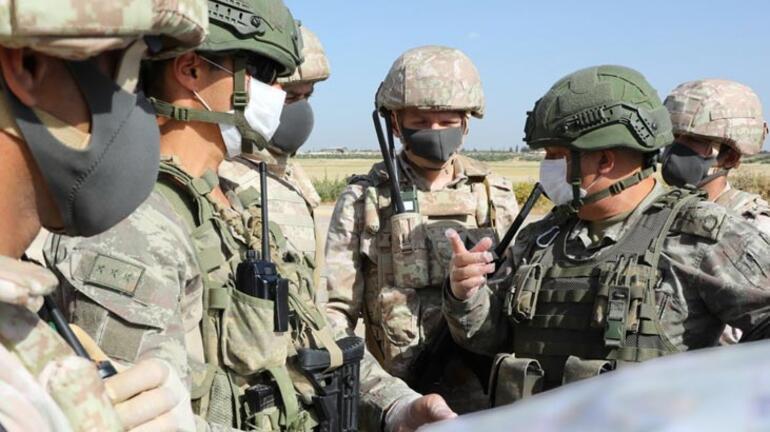 MSB: İdlibde 12inci Türk-Rus Birleşik Kara Devriyesi icra edildi