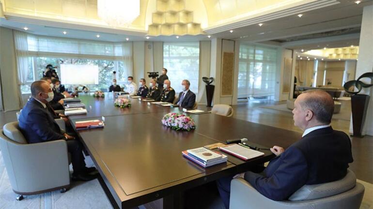 Son dakika... Cumhurbaşkanı Erdoğan başkanlığında Güvenlik toplantısı yapıldı