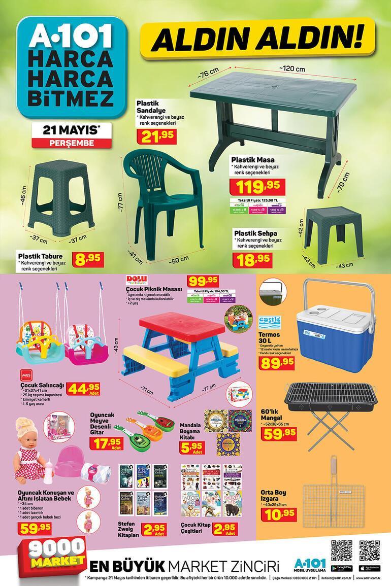 A101 21 Mayıs aktüel ürünler kataloğunda bu hafta neler var A101 kataloğundaki ürünlerin satışı devam ediyor