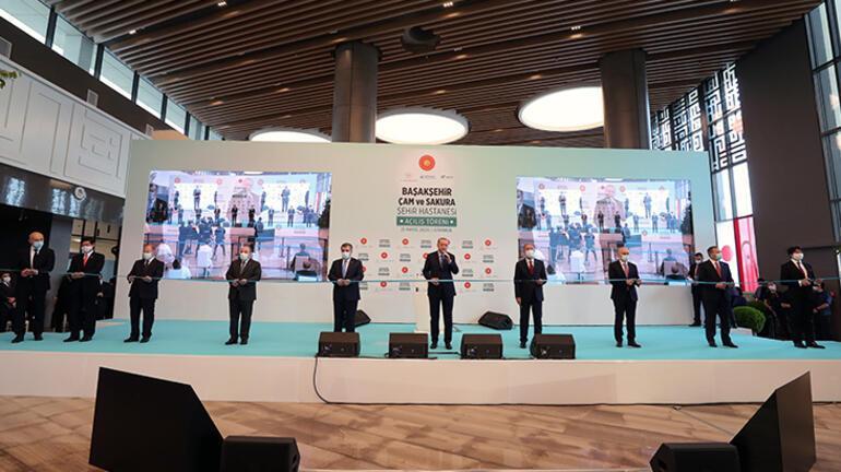 Son dakika I Başakşehir Çam ve Sakura Şehir Hastanesi açıldı Cumhurbaşkanı Erdoğandan flaş açıklamalar